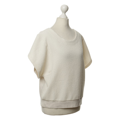 Stine Goya Structured top in cream