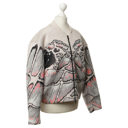 Lala Berlin Scuba-Jacke mit Muster