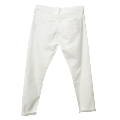 "Frame Denim Jeans ""Le Garçon"" in wit"