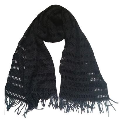 Dolce & Gabbana Grijze wol sjaal