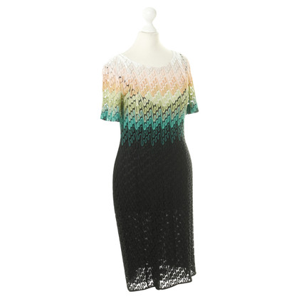 Missoni Knit dress with color gradient