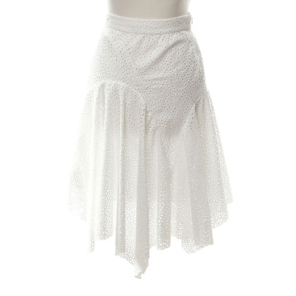 Isabel Marant White cotton skirt
