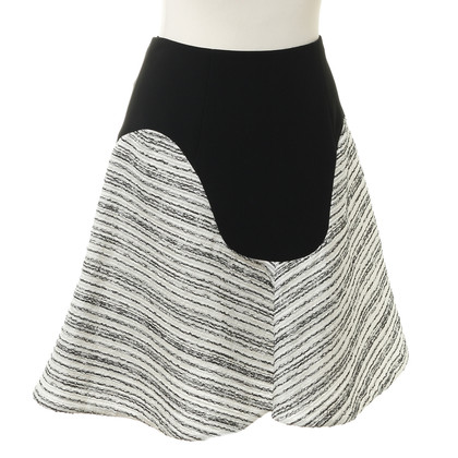 Roland Mouret skirt with material mix