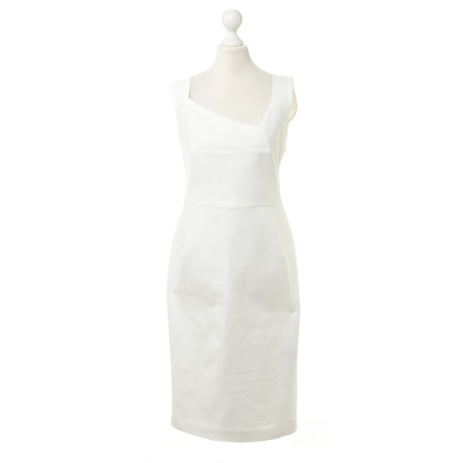 Roland Mouret Pinafore dress in white