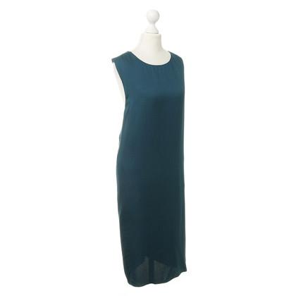 Lanvin Petrolfarbenes Kleid