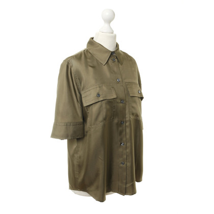 Marc Jacobs Seidenbluse in Khaki