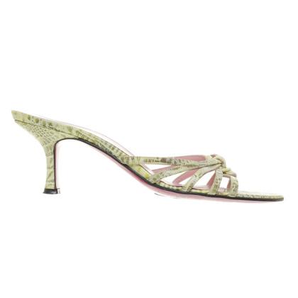 Emanuel Ungaro Green sandals
