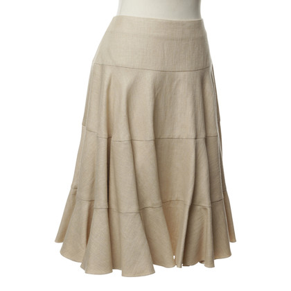 Christian Dior Rok in beige