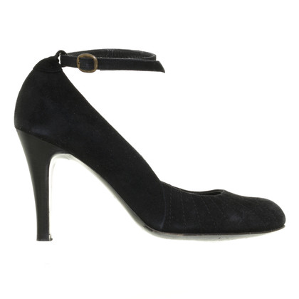 Marc Jacobs Camoscio nero pumps
