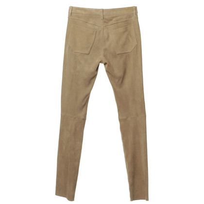 Aigner Pants in suede