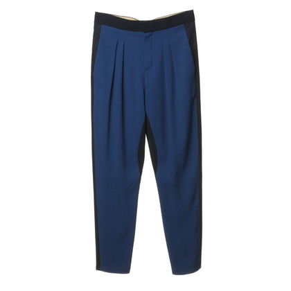 Chloé Trousers in shades of blue