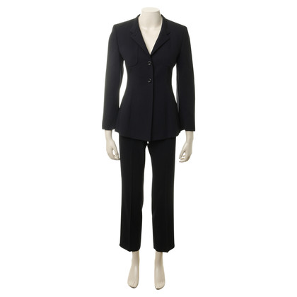 René Lezard Pants suit in dark blue