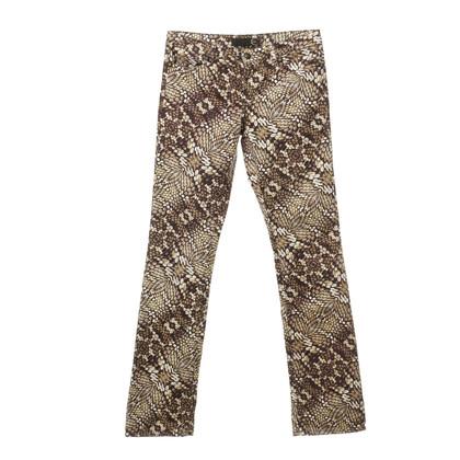 Just Cavalli Reptielen-print broek