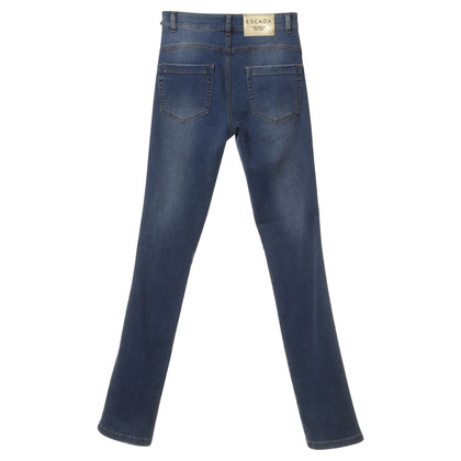 Escada Skinny Jeans in Blau
