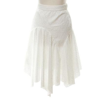 Isabel Marant Gonna di cotone bianco