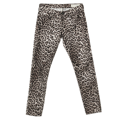 Rag & Bone Boyfriend jeans con stampa animalier