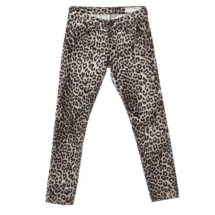 Rag & Bone Boyfriend Jeans mit Animal-Print