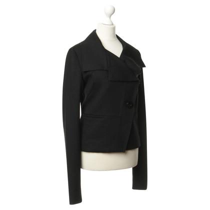 Patrizia Pepe Light Caban jacket in black