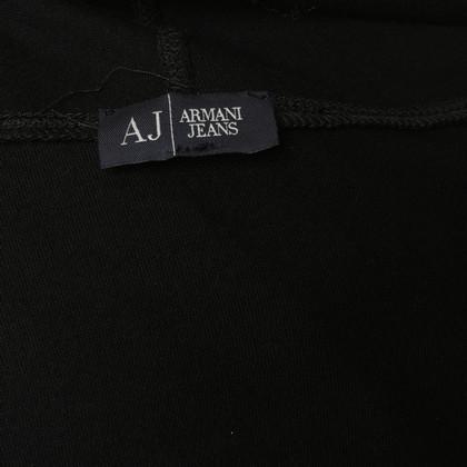 Armani Jeans Oberteil mit Schalkragen