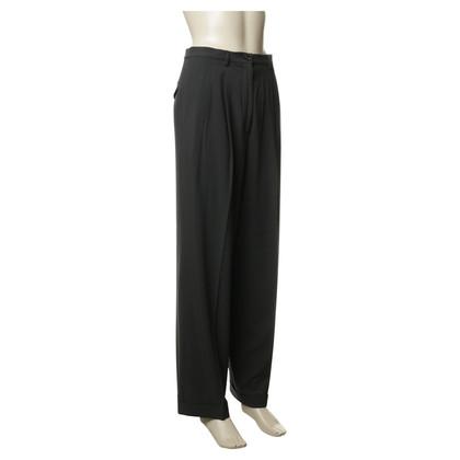 Jil Sander Grey trousers with pleats