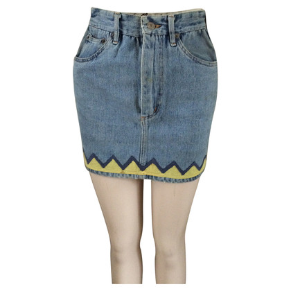 JC de Castelbajac Denim skirt