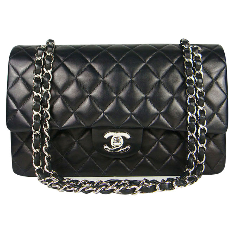 chanel flap bag buy second hand chanel flap bag for 3. Black Bedroom Furniture Sets. Home Design Ideas