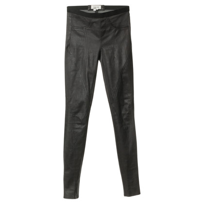 Helmut Lang Leather pants in black