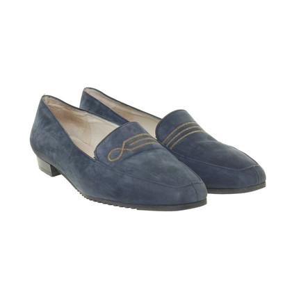Bally Blauwe slipper