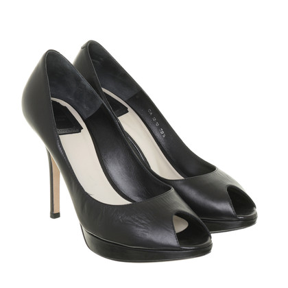 Christian Dior Peep-toes in black