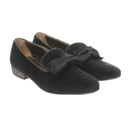 lanvin slipper mit glitzer absatz second hand lanvin slipper mit glitzer absatz gebraucht. Black Bedroom Furniture Sets. Home Design Ideas
