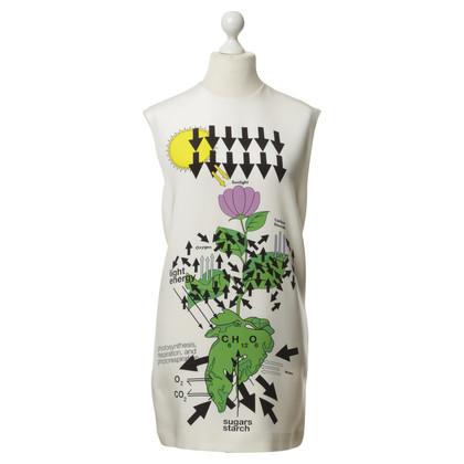 Christopher Kane zijden jurk met bloemmotief