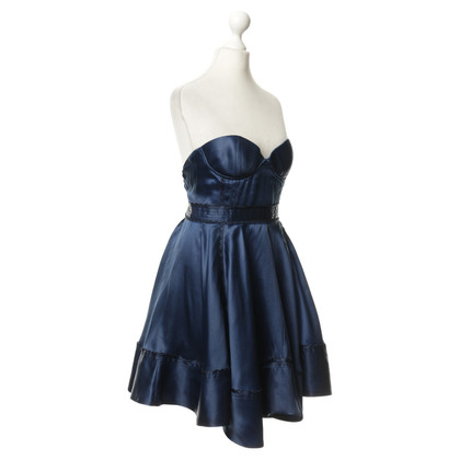 Luella Bustier dress in blue