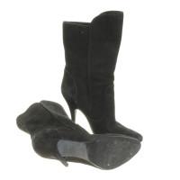 Balmain Black ankle boots