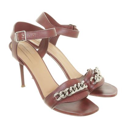 Céline Sandals with chain detail