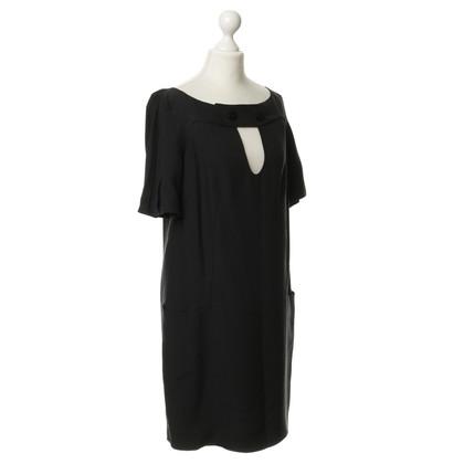 Chloé zijden jurk in zwart