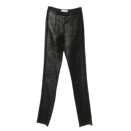 Other Designer Willow - Slim pants with a wicker structure