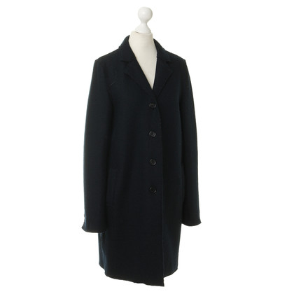 Blonde No8 Coat in dark blue