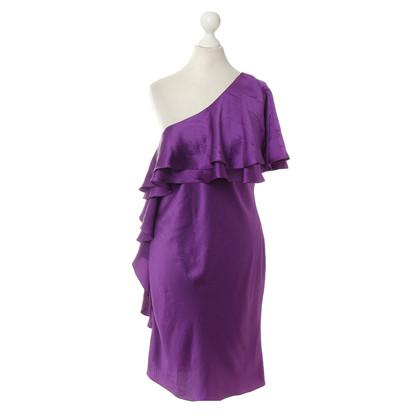 Halston Heritage Asymmetrische jurk