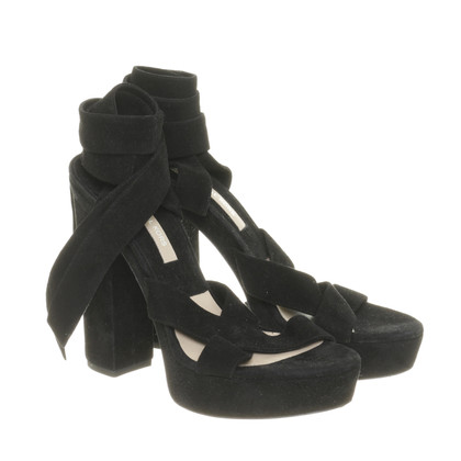 Michael Kors Suede sandals with plateau