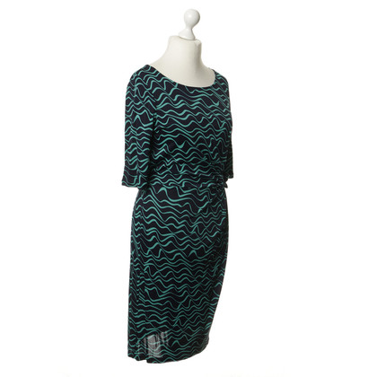 Hobbs Dress with wavy pattern