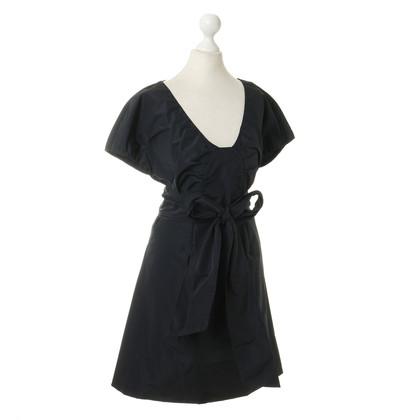 Miu Miu A line dress in dark blue