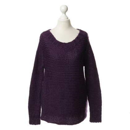 Bloom Strick-Pullover in Violett