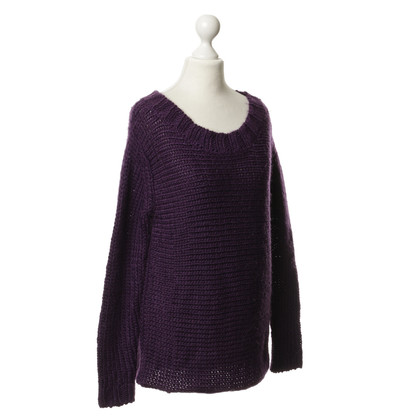 Bloom Knit sweater violet