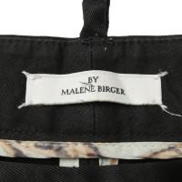 By Malene Birger Pantaloni di cotone nero