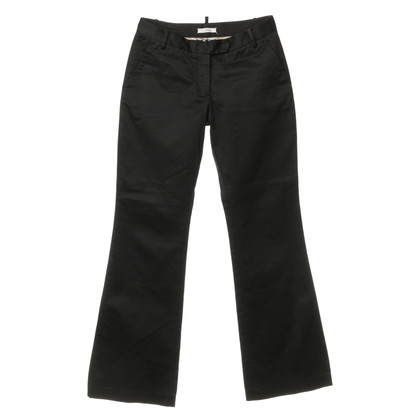 By Malene Birger Cotton Trousers in black