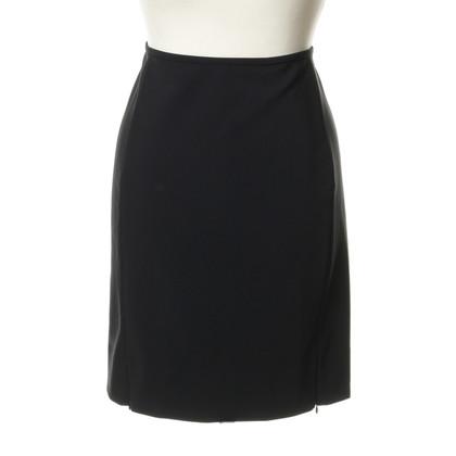 Diane von Furstenberg Straight skirt in black