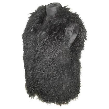 Sonia Rykiel Tibet lamb fur vest