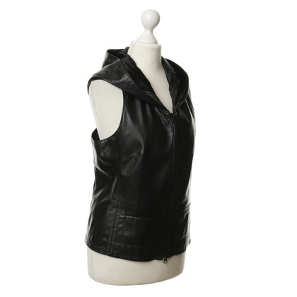 Michalsky Black leather vest