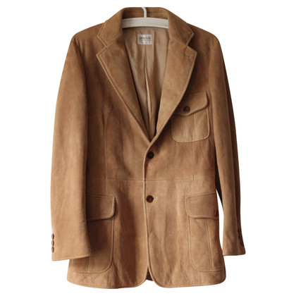 Armani Collezioni Suede jacket