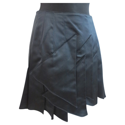 Miu Miu Pleated skirt made of silk